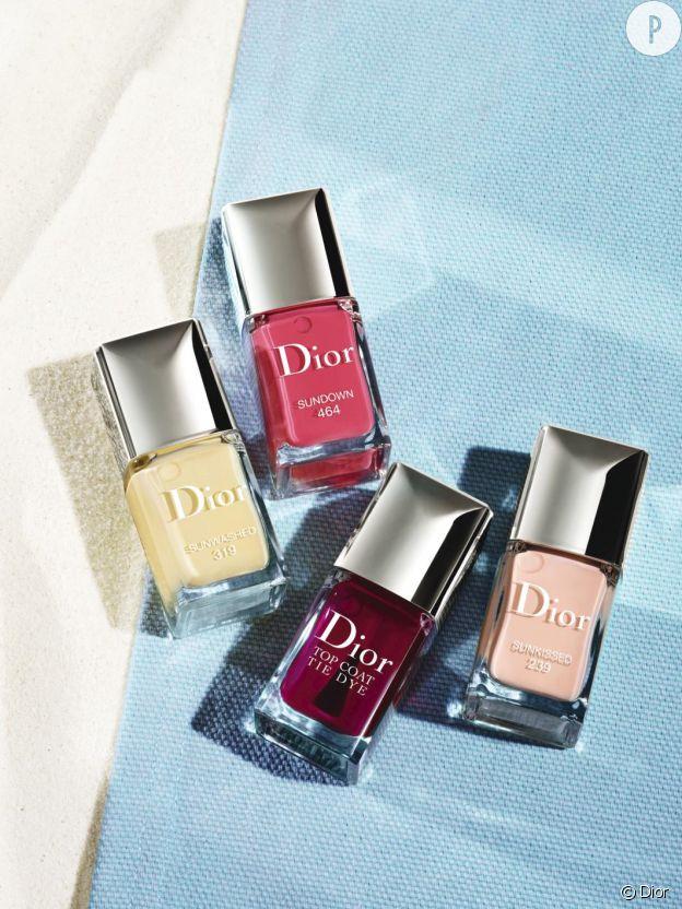 La beauté en tie & dye avec le maquillage d'été selon Dior.