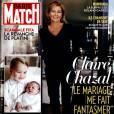 Claire Chazal en une du magazine  Paris Match  de la semaine du 11 juin 2015.