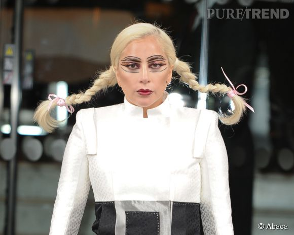 Lady Gaga à Londres le 10 juin 2015.