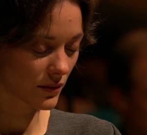 """Marion Cotillard dans """"Jeanne d'Arc au bûcher""""."""