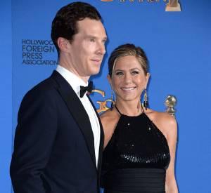 Benedict Cumberbatch, ici au bras de Jennifer Aniston.