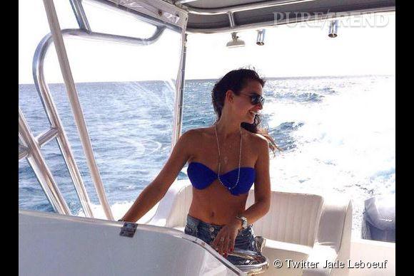 La jolie Jade Leboeuf fait sensation sur les réseaux sociaux.