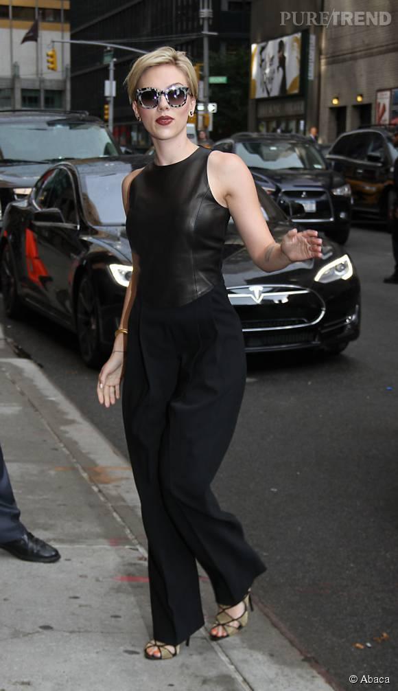 Scarlett Johansson, son grand retour à New York.