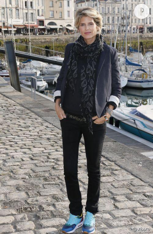 Alice Taglioni au festival de La Rochelle.