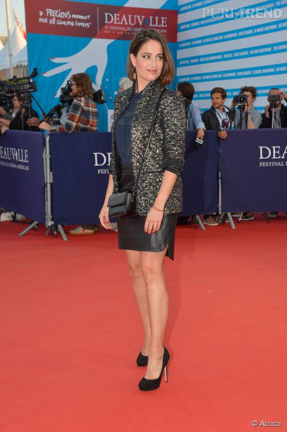 L'actrice illumine chaque jour le tapis rouge du festival.