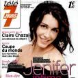 Jenifer en couverture du dernier numéro de Télé 7 Jours