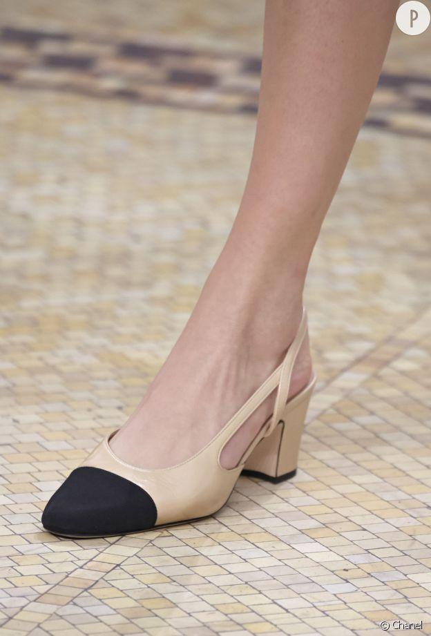 profitez de la livraison gratuite large choix de designs beau look La Slingback : mythique chaussure bicolore Chanel revisitée ...