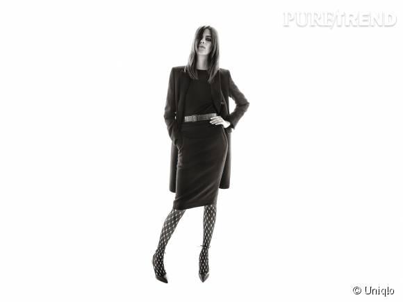 La collaboration Carine Roitfeld x Uniqlo propose des tenues très sophistiquées.