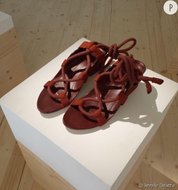 Sandales de la collection H&M Studio Printemps-Été 2016.