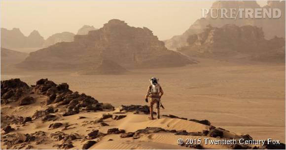 """""""Seul sur Mars"""", des images à couper le souffle."""