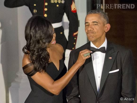 Barack et Michelle Obama fêtent leurs 23 ans de mariage.