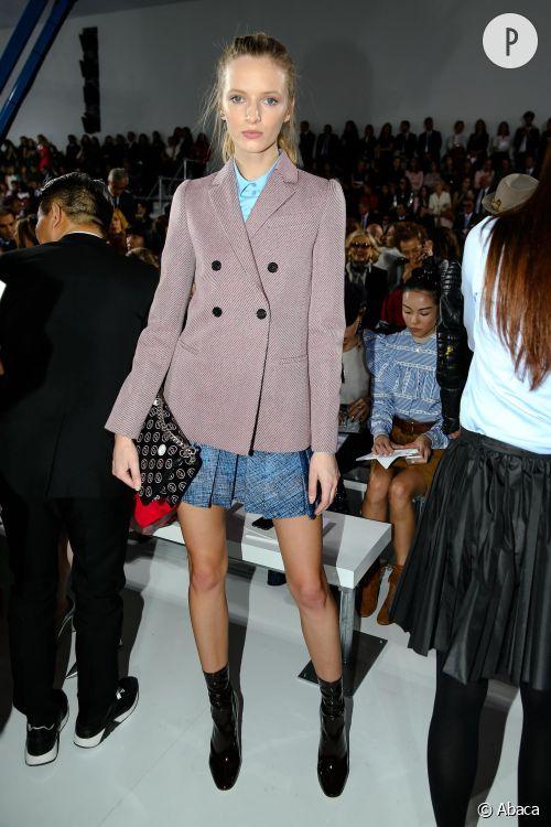 Daria Strokous au défilé Dior.