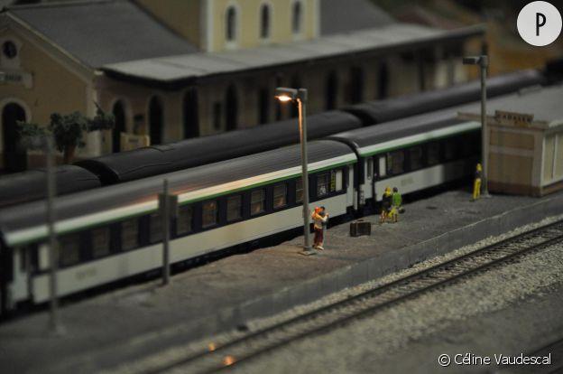"""""""Train miniature Gaillacois"""" de Céline Vaudescal."""