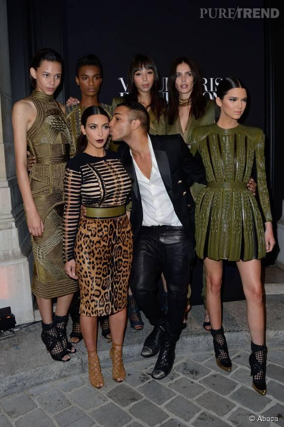 Kim Kardashian est la muse d'Olivier Rousteing comme ce dernier l'a confié à CNN Style.