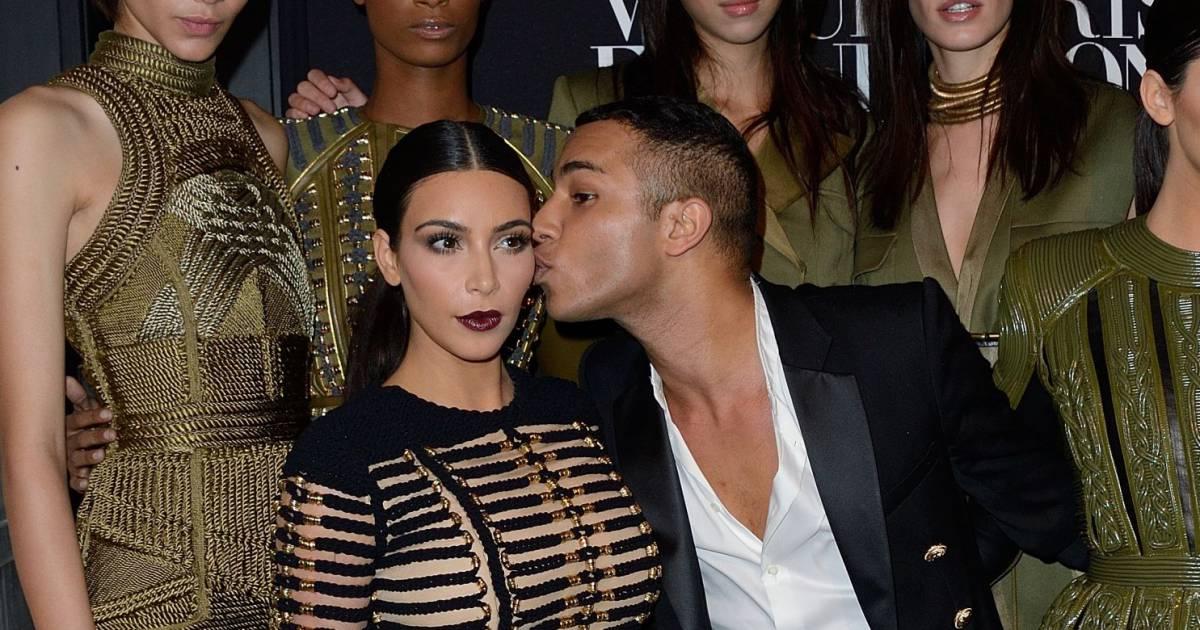Kim kardashian est la muse d olivier rousteing comme ce dernier l a