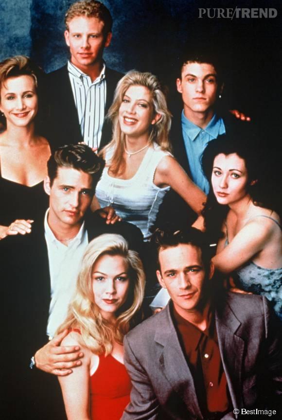 """Il s'en passait des choses sur les plateaux de """"Beverly Hills""""."""