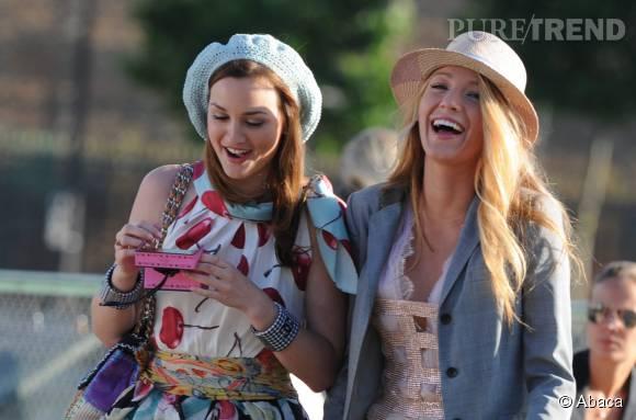 Leighton Meester dans le rôle de Blair Waldorf et Blake Lively dans celui de Serena van der Woodsen, deux rôles qu'elles ont bien failli ne pas avoir.