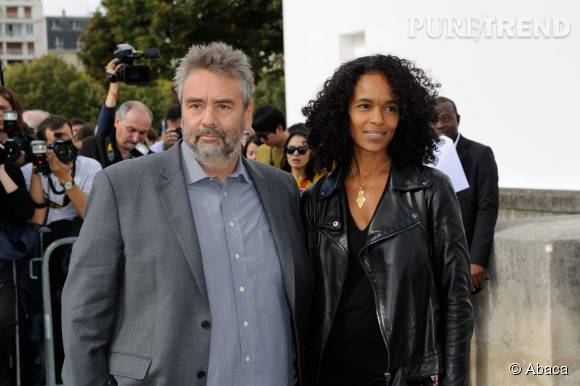 Luc Besson et sa femme, productrice aussi, Virginie Silla.