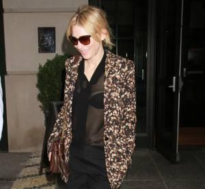 Cate Blanchett : la transparence chic... A shopper !