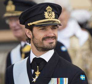 Carl Philip de Suède, le parrain du prince Nicolas de Suède.