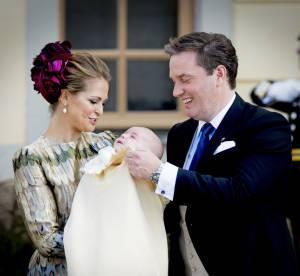 Madeleine de Suède, Victoria de Suède... les photos du baptême du prince Nicolas