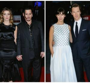 Johnny Depp vs Benedict Cumberbatch : qui forme le couple le plus glamour ?