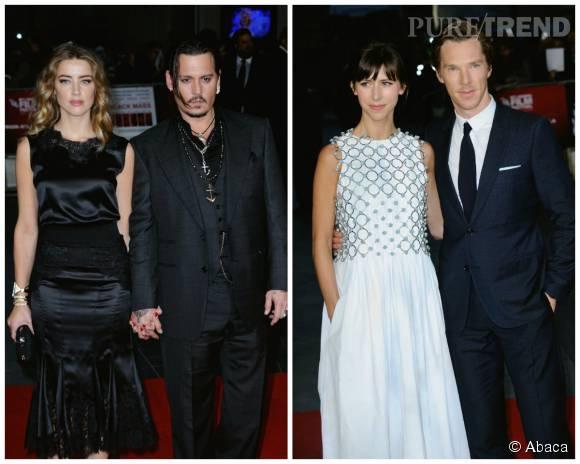 Des deux couples, lequel est le plus glamour ?