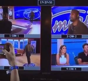 """Kanye West surprend le juryd'""""American Idol""""."""