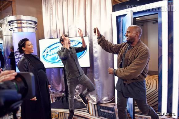 Kanye West, heureux d'avoir réussi son casting !