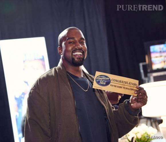 "Kanye West a conquis le jury d'""American Idol""."