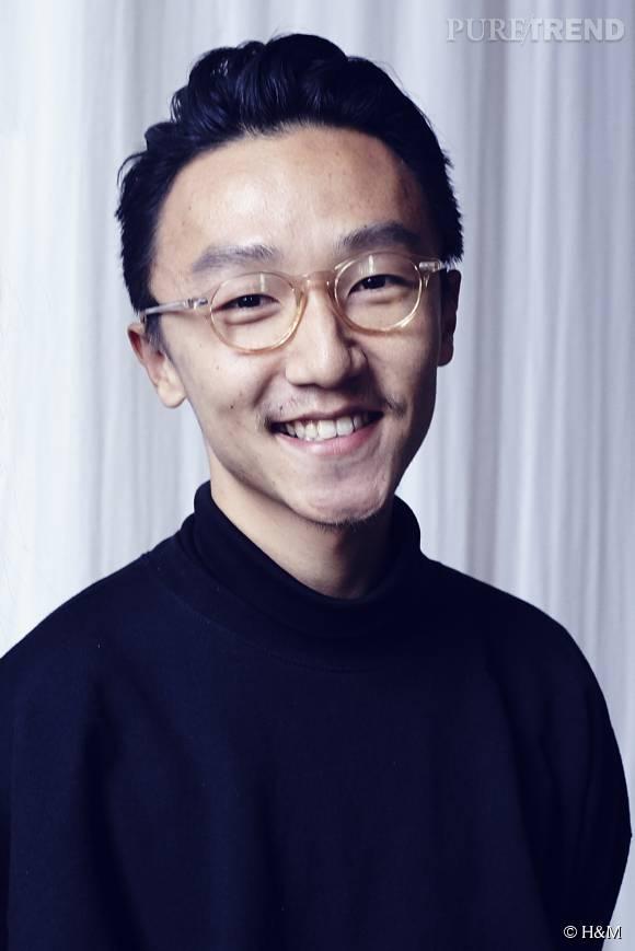 Ximon Lee, le gagnant de l'édition 2015 du H&M Design Award.