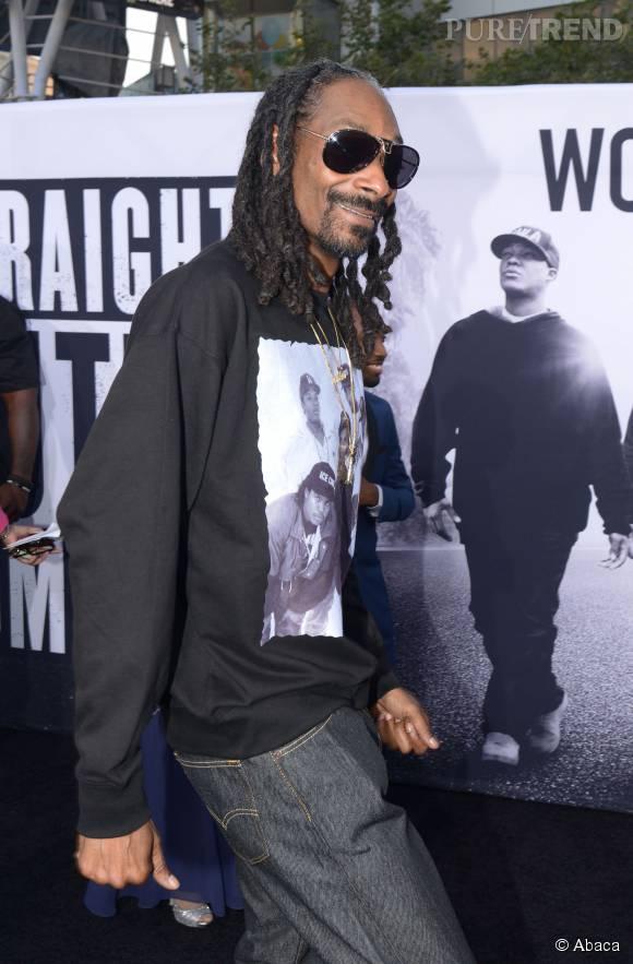 Dernièrement, Snoop Dogg a été vu avec des tresses torsadées façon rasta.