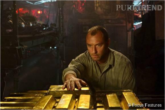 """""""Black Sea"""", le but ultime de Jude Law et ses hommes ? Toucher l'or !"""