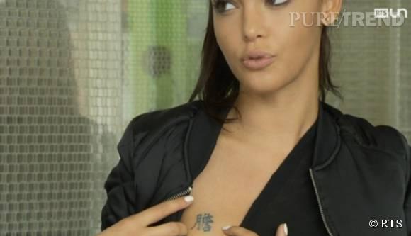 Nabilla parle tatouage ou plutôt détatouage à la télévision.