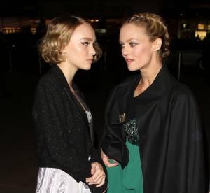 Vanessa Paradis et Lily-Rose : mère et fille épatent en robe du soir chez Chanel