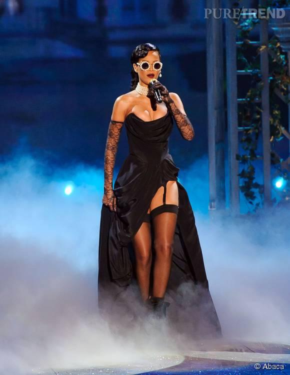Avec Rihanna, on est sûr que le show sera résolument sexy.