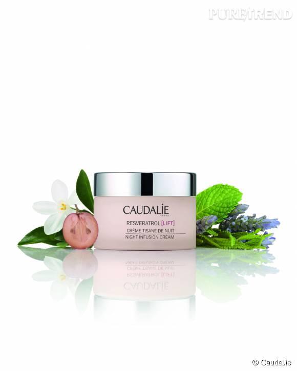 Relaxante grâce à son doux parfum de plantes, la Crème Tisane de Nuit régénère la peau pendant les heures de sommeil.