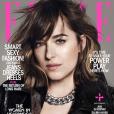 Dakota Johnson en couverture de  ELLE US  pour le numéro spécial Women in Hollywood de novembre 2015.