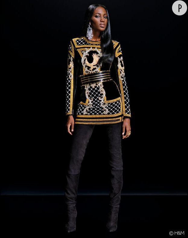 Collection H&M x Balmain.