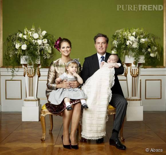 La benjamine de la famille, Madeleine, est maman de deux enfants.