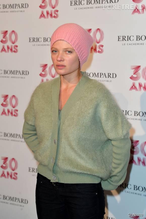 Mélanie Thierry à la soirée anniversaire des 30 ans de la maison Eric Bompard à Paris le 15 octobre 2015.