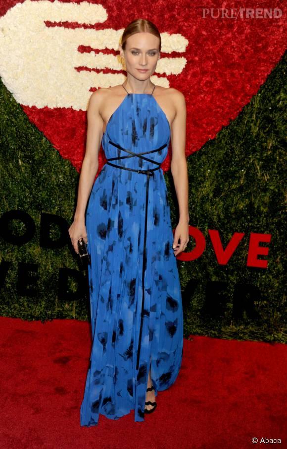 Diane Kruger en Michael Kors Collection au Golden Heart Awards le 15 octobre 2015 à New York.