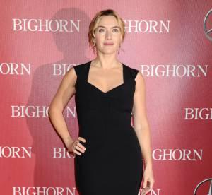 Kate Winslet : glamour, elle affiche ses courbes sensuelles sur le red carpet !