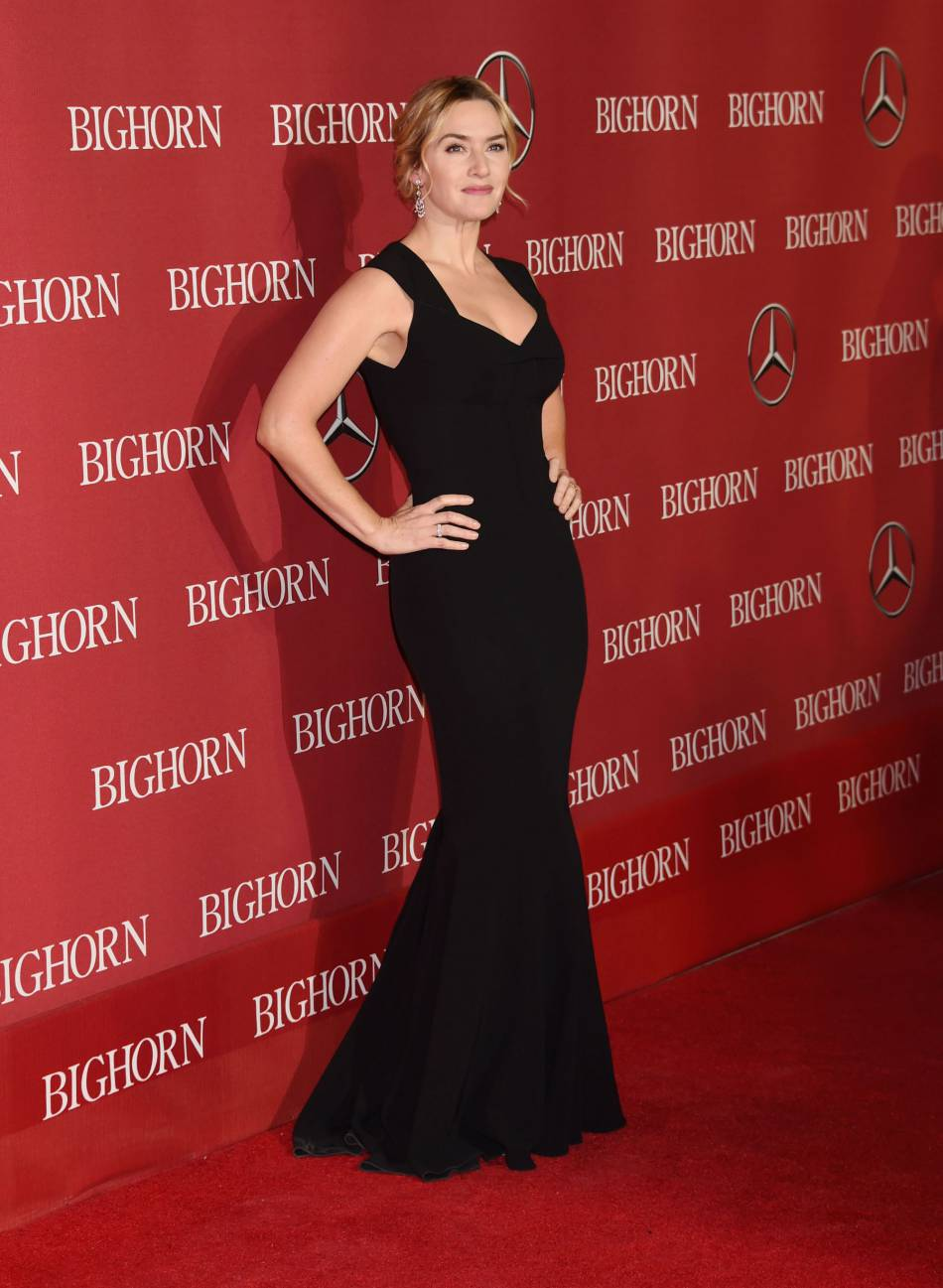 Kate Winslet, terriblement glamour.