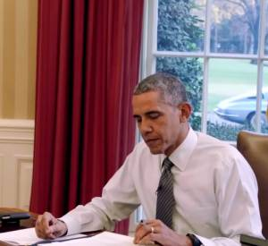 "Barack Obama, le guest de ""Comedians in Cars Getting Coffee""."