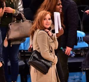 Jessica Chastain : l'élégance incarnée pour une rencontre sportive... A shopper