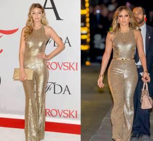 Gigi Hadid vs Jennifer Lopez : la combi Michael Kors Collection qui vaut de l'or