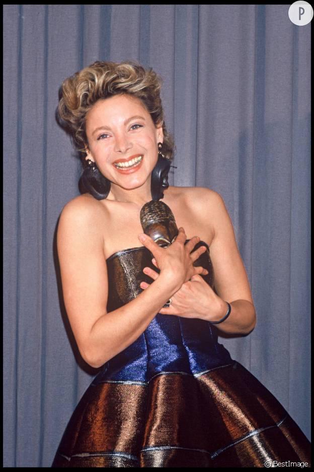 Grace de Capitani en 1990.