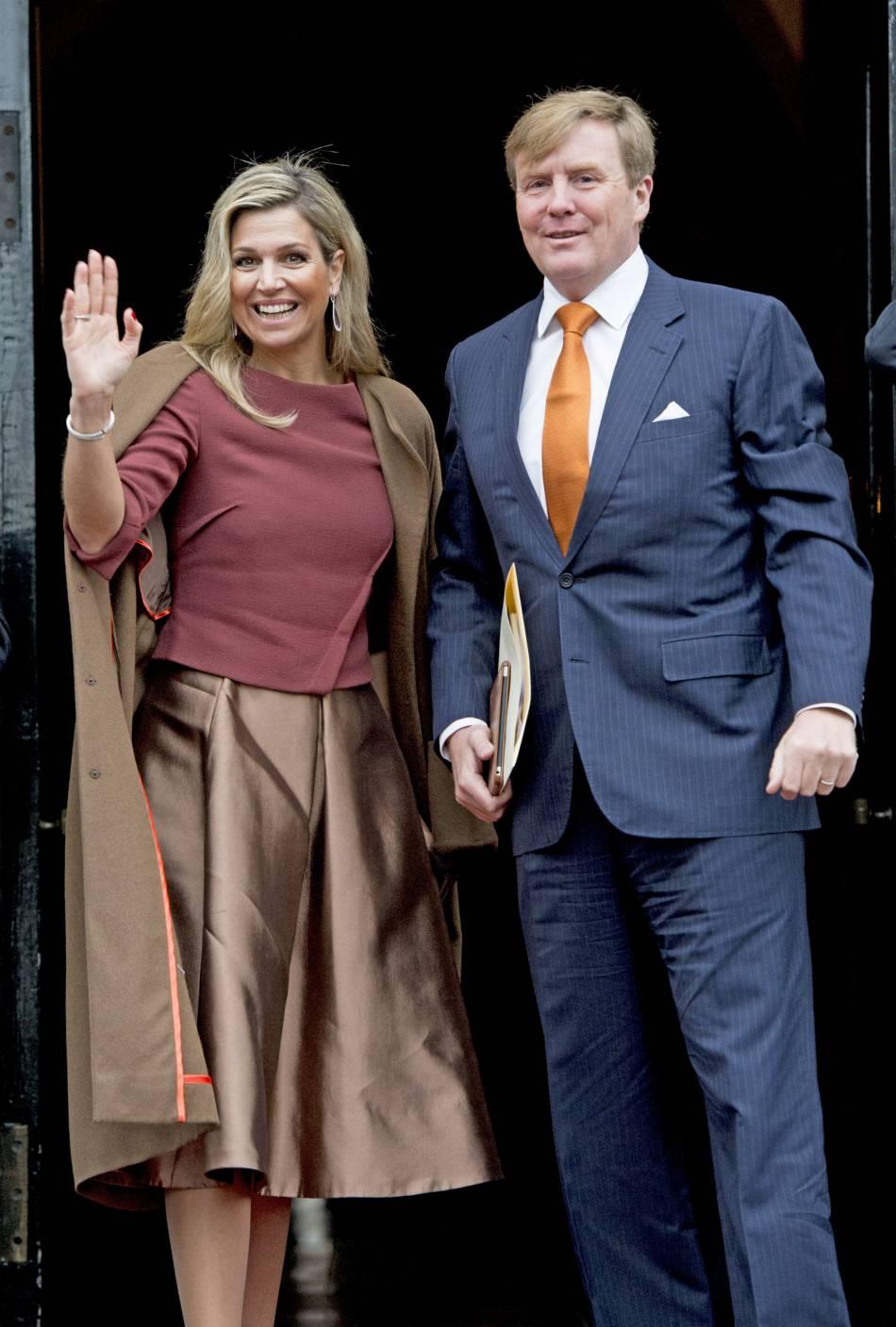 La reine Maxima des Pays-Bas et son mari le roi Willem-Alexander.