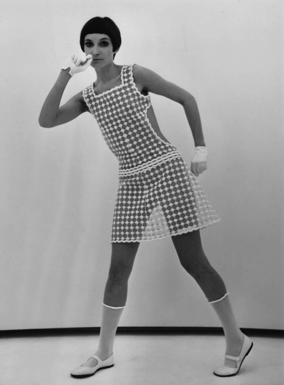 Mannequin Courrèges, 1967.